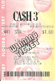 Florida Lottery Cash 3